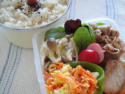 Carrot Shirishiri Bento