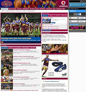 Lions Website
