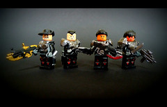 Whiskey Squad (Geoshift) Tags: lego cog lancer gnasher gearsofwar customlego gearsofwar2 legocustoms gearsofwar3 legocustomminifig amazingarmory gearsofwarlego legogearsofwar whiskeysquad