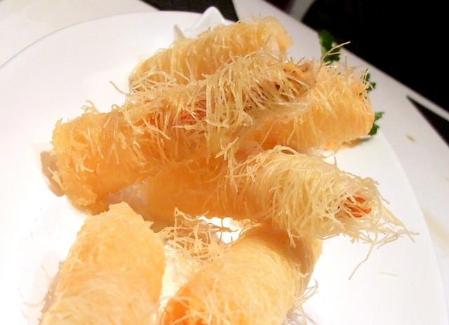 Fried Shrimp with Noodle Wrap