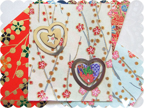 Make your own Book Hearts kit