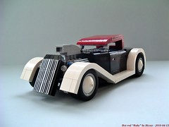 Hot Rod Ruby (Biczzz) Tags: hot lego hotrod rod ruby v8 lugnuts 0937 comunidde biczzz comunidade0937
