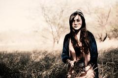 Gabriela Scarlett Pelletier (Jeremy Snell) Tags: light girl grass sepia polaroid natural indian indie gabriela tones pelletier