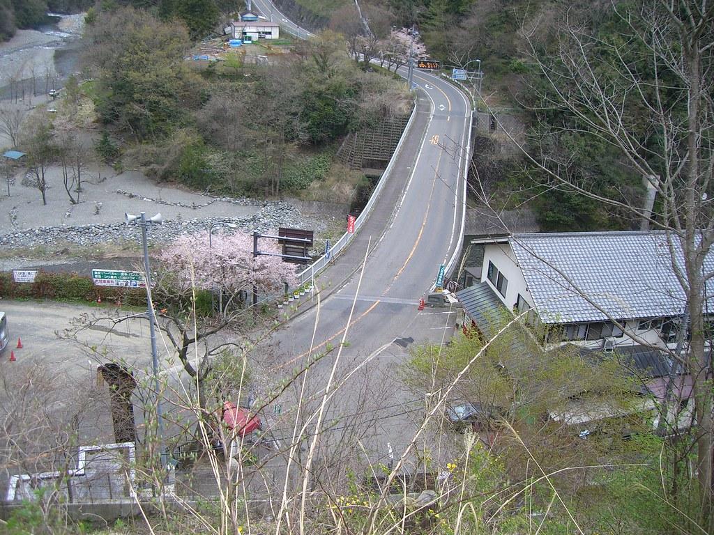 両国橋を上から眺める