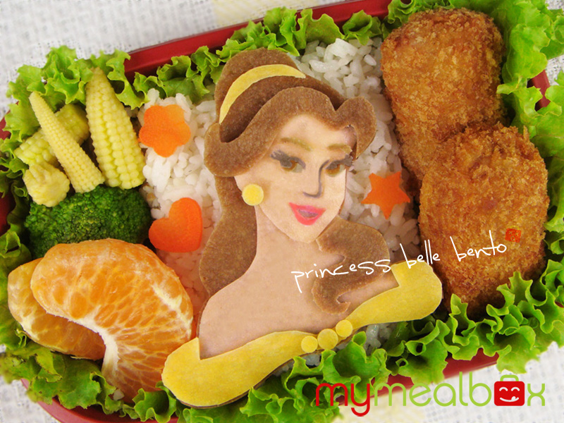 Princess Belle bento