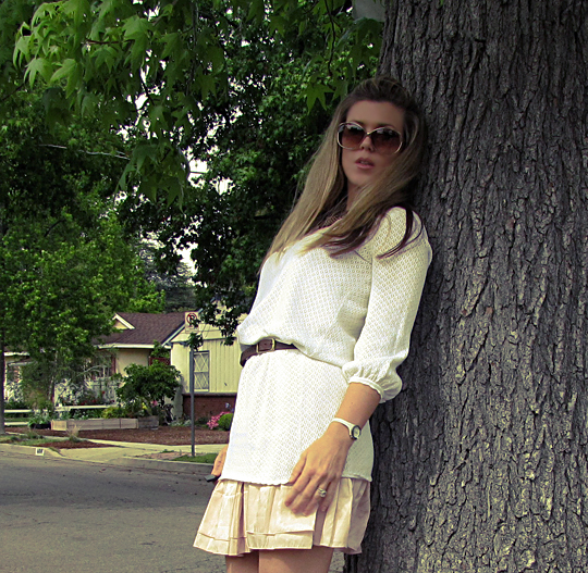 soft pink and white dress 6 tree