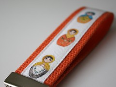 Key Fob - Matryoshka doll
