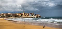 Playa San Lorenzo (San Pedro), Gijon (Hogolita) Tags: san playa lorenzo gijon playasanlorenzo