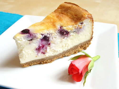blueberry cheesecake 2