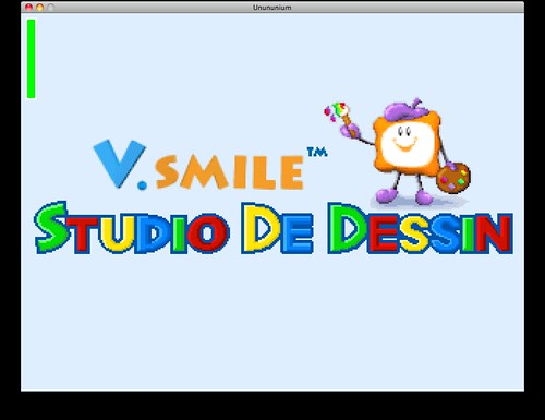 Unununium: V.smile Studio De Dessin
