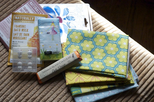 ORBC spring swap loot - outgoing