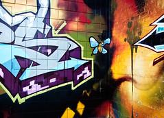 Keele street graffiti (sabesh) Tags: toronto graffito ep2 keelest olympusep2 panasonic714 panasonic717mm