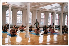 led intermediate class with guruji NYC 2001