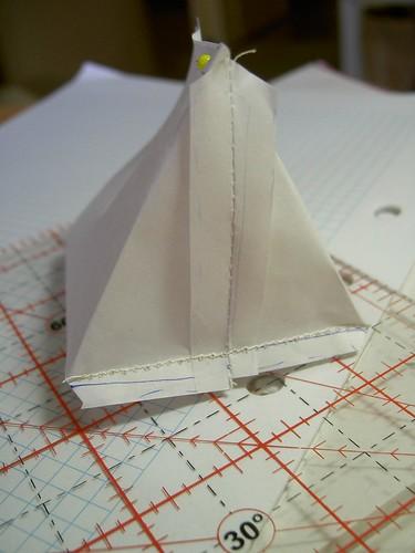 Paper model - new bag