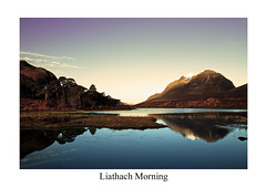 Liathach Morning (w11buc) Tags: sunrise canon landscape scotland highlands 7d loch torridon liathach 5photosaday greatscot 1585mm