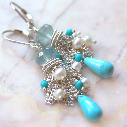 ~ Sardinia earrings ~