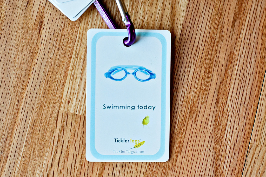 swimming tag