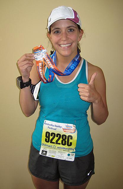 my first half marathon!!!!!
