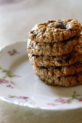chocolate chip cookies easy cookies oatmeal chocolate chip cookies ...