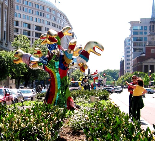 sculpture by Niki de Saint Phalle (photo c2010 FK Benfield))