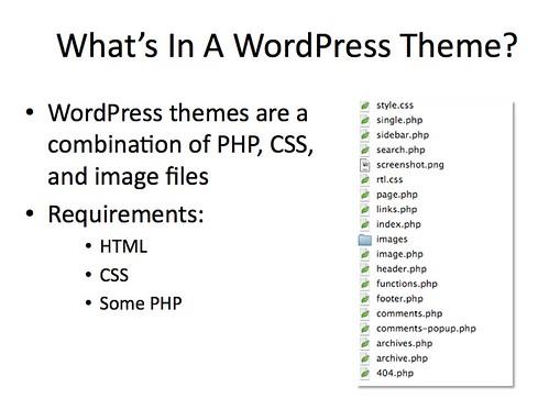 WordPress Theme Developement