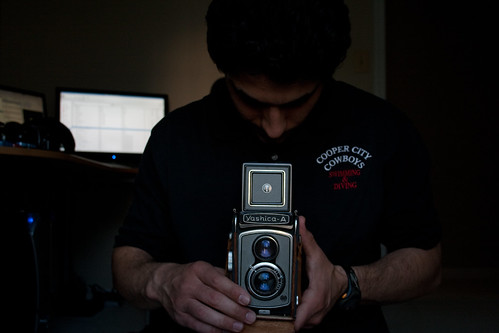 Day Three Hundred Thirteen:  Meet the Yashica-A