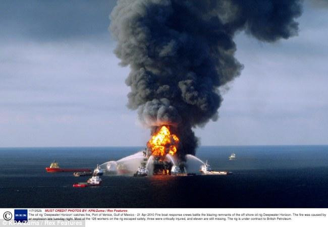 oil rig explosion 1