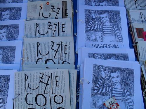 Puzzle colorido y Parafrenia por Giuliettadelosespiritus.