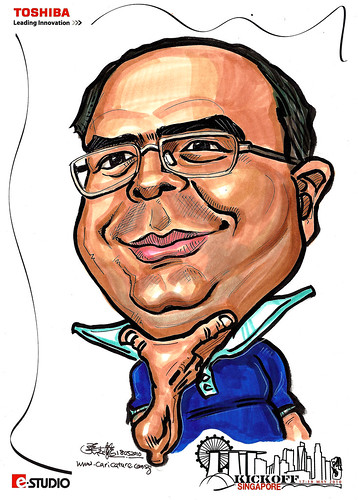 Caricature of Wael