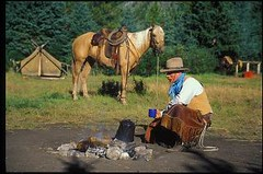 """Flint's campfire at Warner Guiding and Outfitting (Ranchseeker (www.ranchseeker.com)) Tags: other hiking alberta banff """"flyfishing"""" """"cowboycookouts"""" """"horsebackriding"""" """"naturetrails"""" """"overnighthorsetrips"""" """"packtrips"""" """"saddleyourownhorse"""" """"wildernesssetting"""" """"mountainsetting"""" """"photographytrips"""" """"wildlifeviewing"""" """"crosscountryskiing"""" """"sleighrides"""" """"snowshoeing"""""""