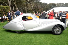 1938 Talbot Lago T150C Speciale Coupe at Amelia Island 2010 (gswetsky) Tags: classic lago island antique 1938 amelia concours coupe talbot 2010 speciale delegance 150c