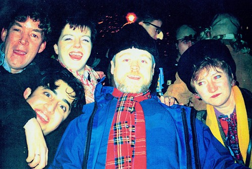Hogmanay Party, George Square,  1990-91