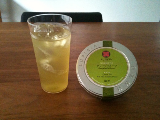 GRAPEFRUIT GREEN TEA