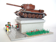 02 May 9th (PigletCiamek) Tags: lego end ww2 t34