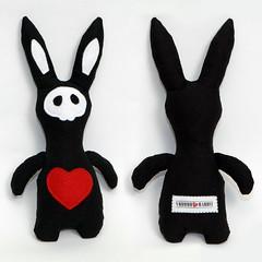 Handmade Voodoo Rabbit Plushie 01