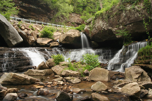 waterfall on Laurel River