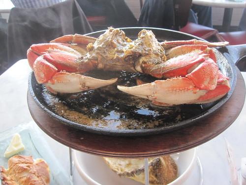 Whole crab!