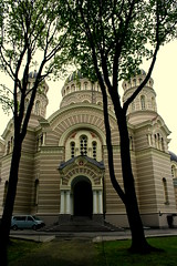 Orthodox Cathedral in Riga (Aleksejs Medvedevs (Alex)) Tags: