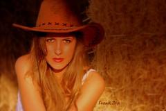 ... Cowgirl (FranK.Dip) Tags: girls portrait woman girl smile portraits donna model glamour eyes models smiles occhi sguardo do