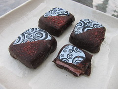 Strawberry Butter Ganache Chocolates