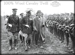 Codrington 1925 VIP Inspecting Troops (Make Oxygen... Kill Co2...Plant More Trees) Tags: fashion vintage army clothing uniform general boots military coat retro riding jacket uniforms officer generals medals officers breeches ridingboots armyofficer officerwearinguniform