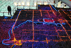 pantagruel (Xuan Che) Tags: 2005 china city light miniature neon capital beijing january planning civic museo qianmen canonixus400
