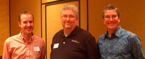 David Mihm, Brian Combs and Chris Silver Smith at DFWSEM. May, 2010