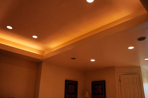 Game Room Vaulted Ceiling