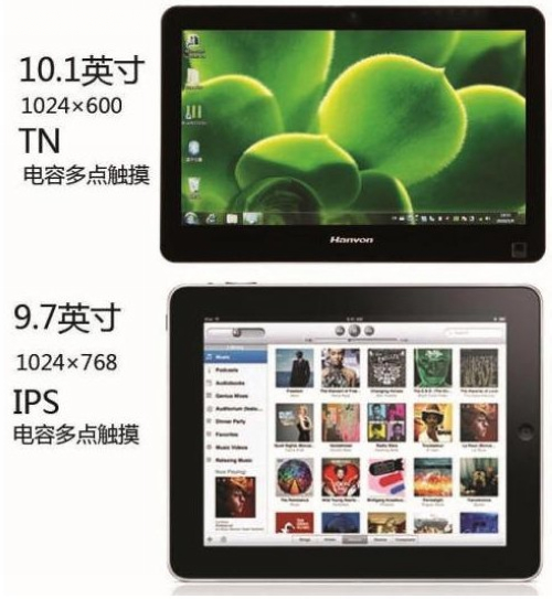 touchpad and iPad