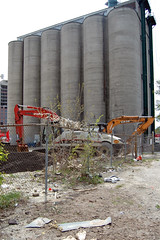 Junction Rd - April 24, 2010 (collations) Tags: toronto ontario architecture concrete documentary storage vernacular silos streetscapes builtenvironment thejunction urbanfabric westtorontojunction