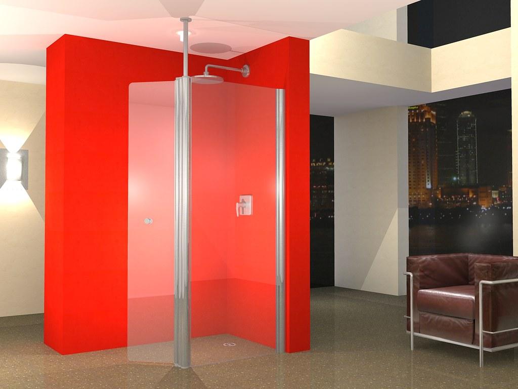 Unishower 1200 Walk In Wet Room Screen