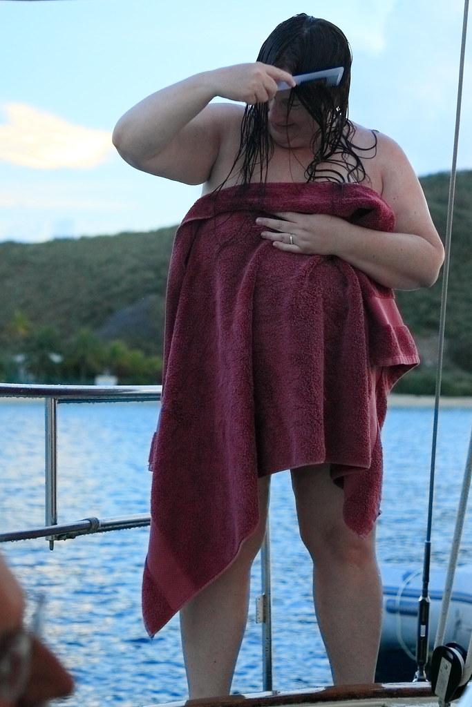 Wife nude on carabiean vacation