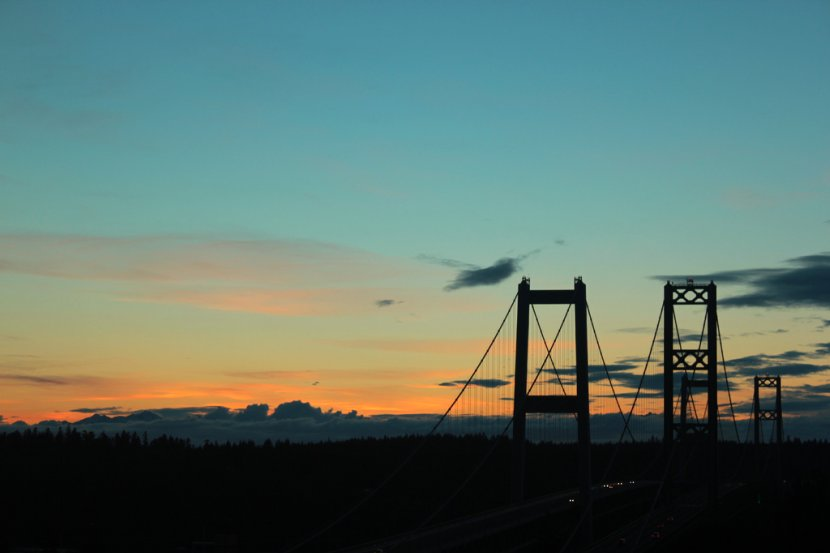 Narrows Bridge Sunset