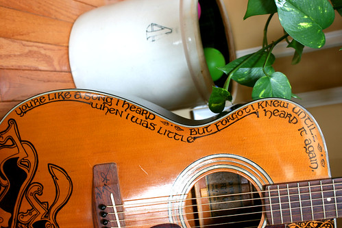 Quote on the Second Sharpie Guitar